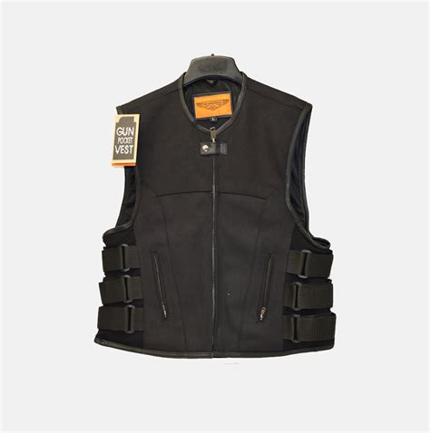 motorcycle jacket vest swat style canvas motorcycle vest bikers gear online usa