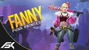 Mobile Legends Fanny Punk Princess Skin Season 3