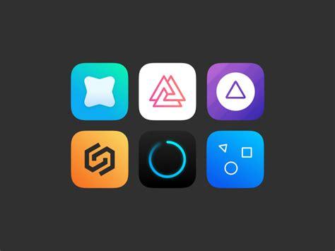 apple app store  google play store icons sketch freebie