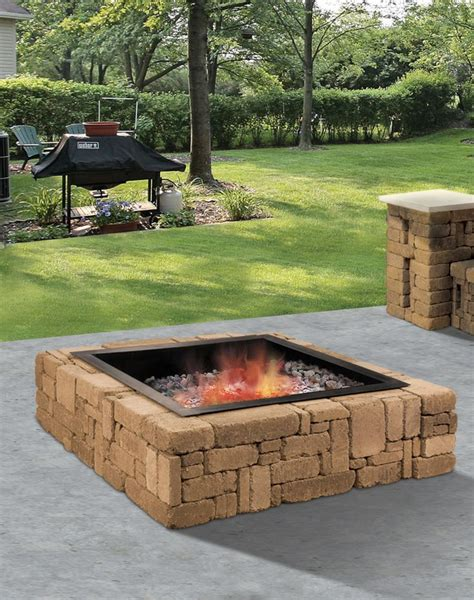 The Rustic Fire Pit Is A Great Source Of Relaxation An