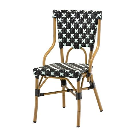 chaise bistrot rotin chaise bistrot en alu et polyrotin chaise bistrot pour