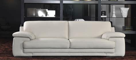 canap blanc simili cuir pas cher canapé simili cuir beige univers canapé
