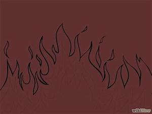 How to Draw Flames: 14 Steps (with Pictures) - wikiHow
