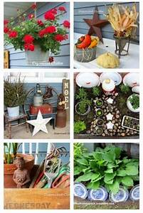 264 best images about Rustic Garden Decor on Pinterest