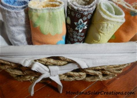 easy handmade gift diy cloth napkins   paper towels
