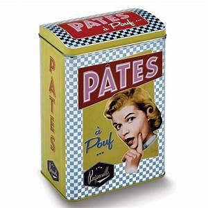 Boite A Pates : bo te m tal p tes pouf natives d co r tro vintage provence ar mes tendance sud ~ Teatrodelosmanantiales.com Idées de Décoration