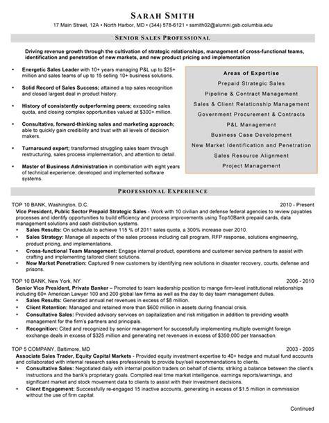 financial resume writer