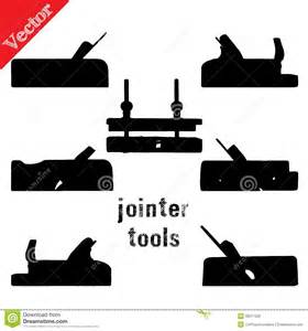 collection of silhouettes woodworking tools stock vector image 39017329