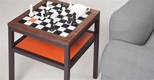 Made Com Table Basse : olivia putman pr sente la table damier contrast ~ Dallasstarsshop.com Idées de Décoration