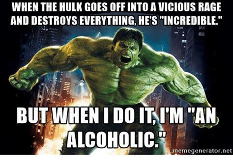 memes  hulk  alcoholic hulk