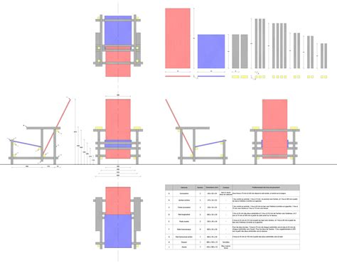 la chaise et bleu chaise noir design arnaud gaudin design espace