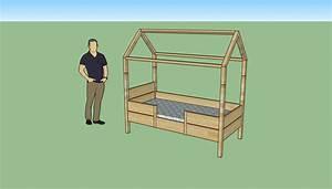 Construire Un Lit Cabane : ides de plan pour construire lit cabane galerie dimages ~ Melissatoandfro.com Idées de Décoration