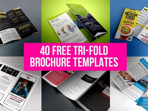 free tri fold brochure design 40 free tri fold brochure templates free psd ui