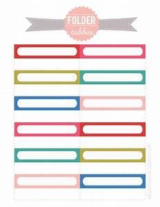 selection d39etiquettes a imprimer pour vous organiser With free printable file folder labels