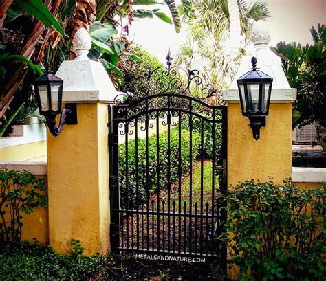 garden iron metal 20 best wrought iron gates allstateloghomes