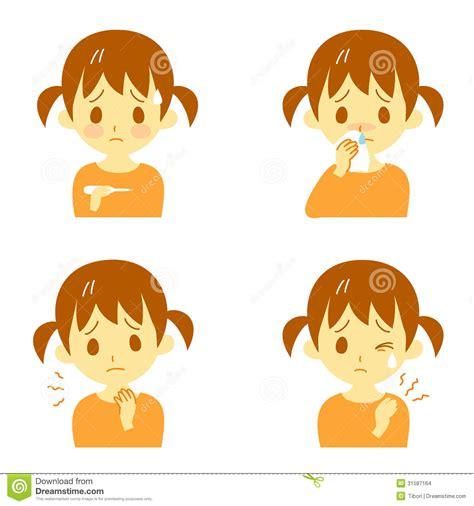 disease symptoms  girl stock images image