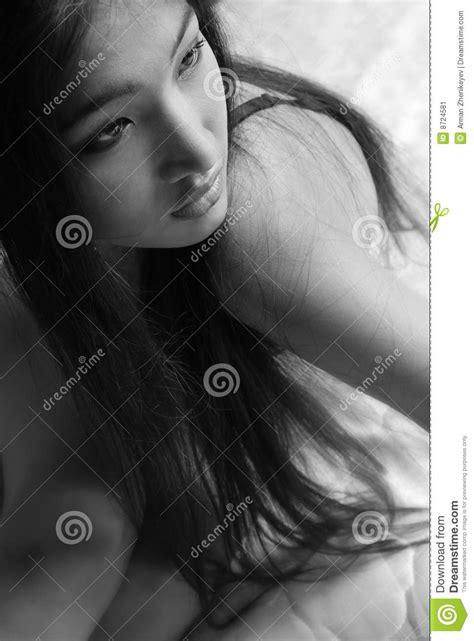 Black And White Sensuality Stock Image  Image 8724581