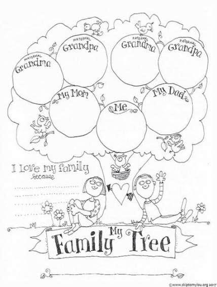 family tree  kids crafts  ideas   tree