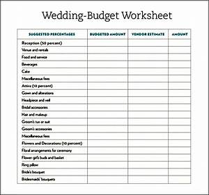 stunning wedding budget worksheet excel gallery styles With normal wedding budget