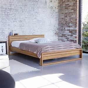 Bett 160x200 Holz : teak bett 160x200 verkauf von massivteak betten minimalys tikamoon ~ Indierocktalk.com Haus und Dekorationen
