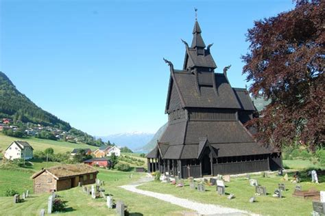 swinging  norway  stave church  stave church