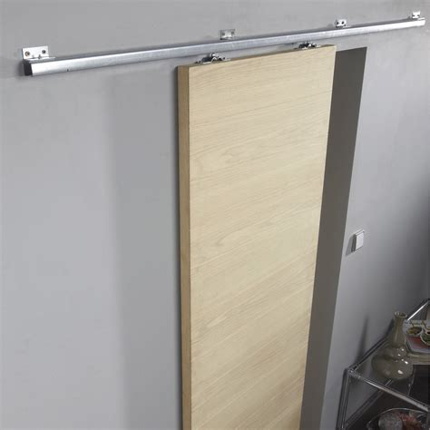 rail coulissant artens pour porte de largeur 93 cm maximum leroy merlin