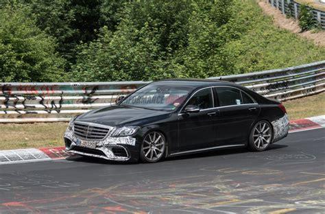 2018 Mercedesamg S 63 Prototype Spied, Still Testing On
