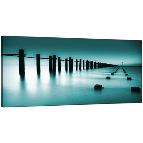 abstract prints for sale cheap teal canvas prints of the sea