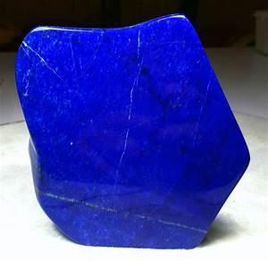 Royal Blue Lapis Lazuli : fine quality royal blue color lapis lazuli free form tumble 135 x 131 x 33 mm 1285 gram ~ Markanthonyermac.com Haus und Dekorationen
