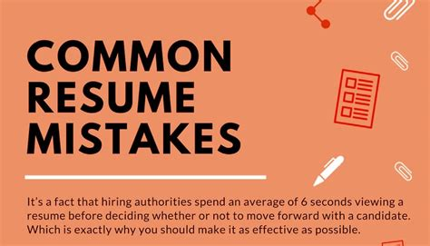 Common Mistakes Made On Resumes by Egret Consulting