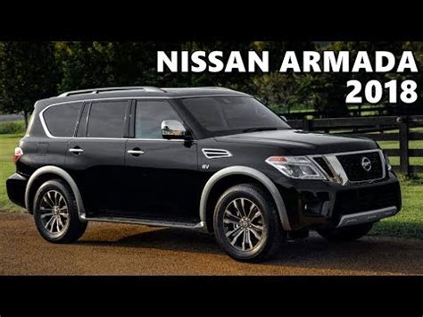 2018 Nissan Armada Platinum With Intelligent Rear View