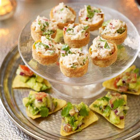 canapes filling recipe white crab canapes