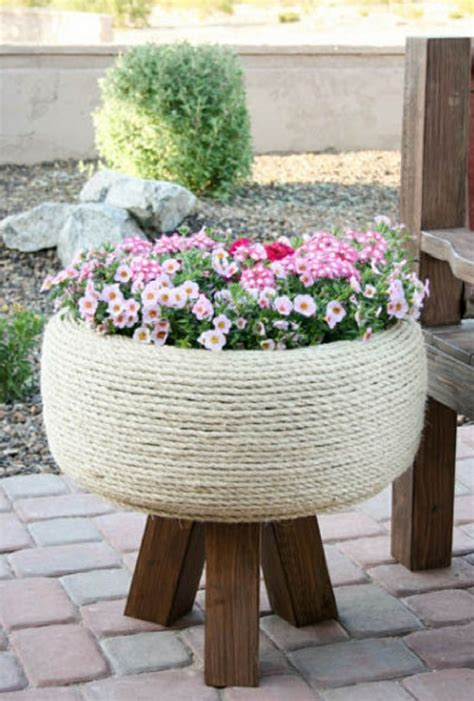 Der Kreative Garten by Kreative Gartentipps Pflanzencontainer Aus Alten Autoreifen
