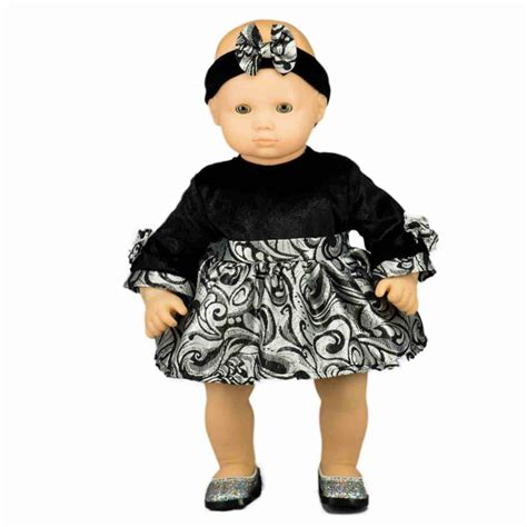 baby doll party dress doll clothes fits american