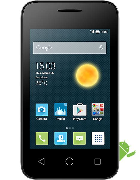alcatel onetouch pixi 3 3 5 contract pay as you go sim free carphone warehouse