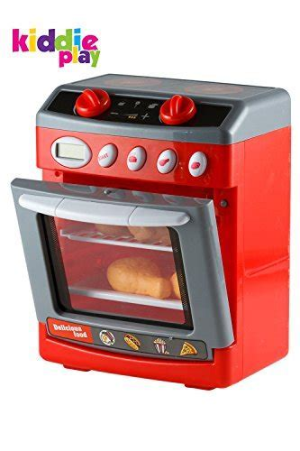 Kiddie Play Pretend Play Electronic Toy Oven with Play