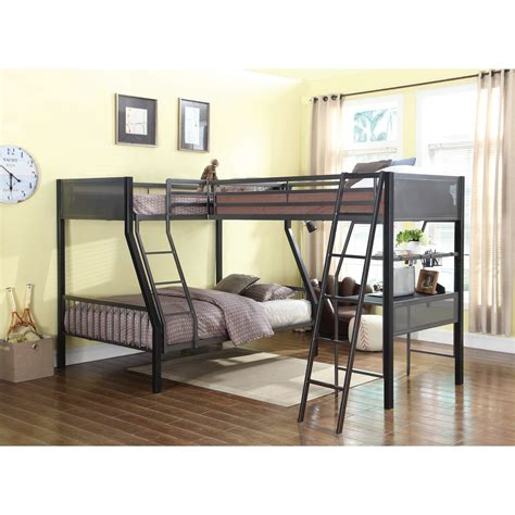southern motion furniture coaster bunks metal loft bunk bed with loft