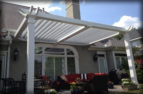 Stationary & Motorized Residential Pergolas & Pergola Covers