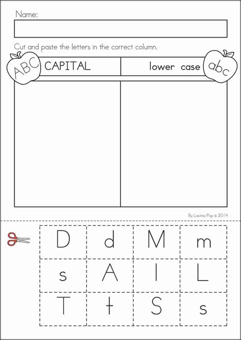 Best 25+ Capital Letters Worksheet Ideas On Pinterest  Capital 1, Abc Worksheets And Upper And
