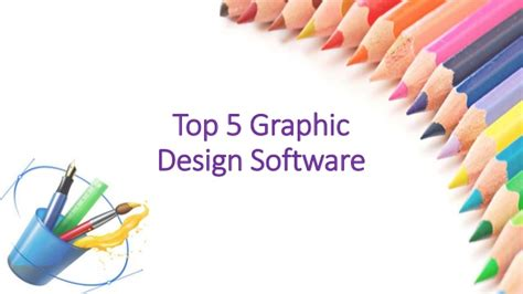 best graphic design software 5 graphic design software