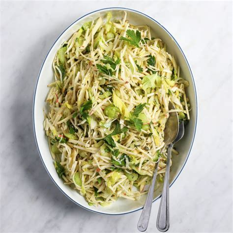 Celery Root, Apple And Fennel Slaw Recipe  Colby Garrelts