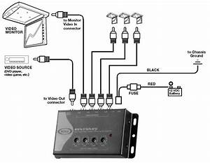 Amazon Com  Boss Audio Bvam5 One In  Four Out Car Video Signal Amplifier