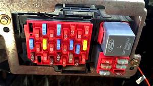 2008 Ford Crown Victoria Fuse Box Location
