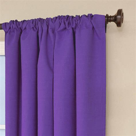 Sears Eclipse Blackout Curtains by Eclipse Kendall Blackout Window Curtain Panel