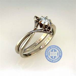 54 best images about celtic engagement rings on pinterest With celtic engagement and wedding ring sets