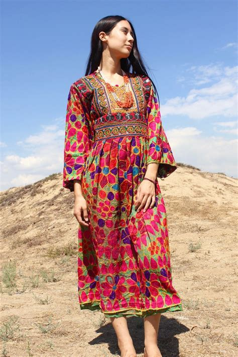 sale nomadic beauty traditional handmade afghan gown