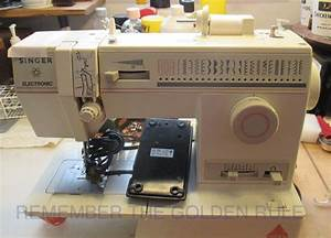 My Sewing Machine Obsession  Electronic Singer 9022