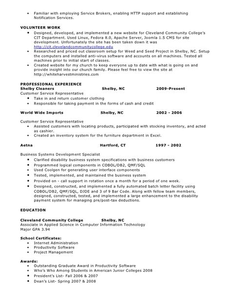 Pl Sql Developer Resume 2 Years Experience by Sql Developer Resume