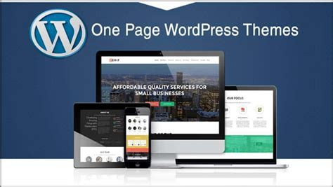 One Page Theme Best One Page Themes In 2018 85ideas