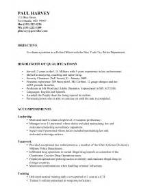 resume objective statements for high school students